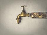 Faucet full of money - 117244807
