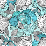 Floral Pattern Seamless Background