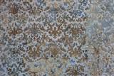 old, shabby tile, East Asian style - 117295614