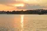 Закат над Несебром