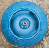 Botijão de gás azul