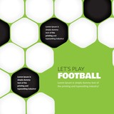 Abstract football background - 117449406