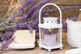 Fototapety Sommergrüße/Lavendel