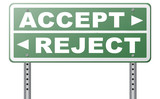 accept or reject