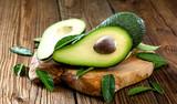 Fototapety Frische Bio Avocado