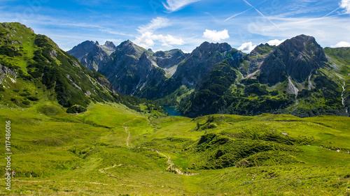 Foto op Plexiglas Bergen Tappenkarsee, Salzburger Land, Österreich an einem sonnigen Tag