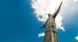 Christ the Redeemer, located on top of Corcovado, in Rio de Janeiro, Brazil