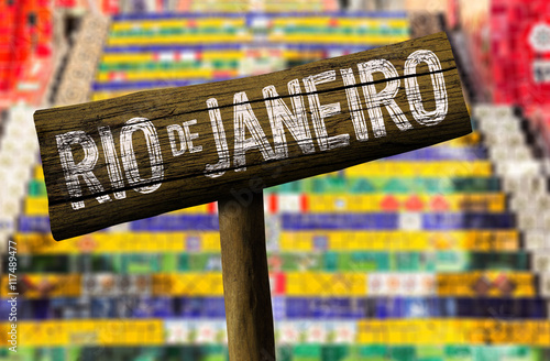 Poster Rio de Janeiro sign