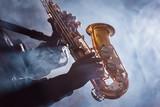 African American Jazz Musician Blues Club Preformer - 117503060