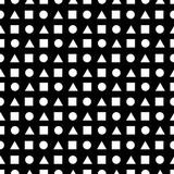 Abstract seamless pattern made of geometric shapes.