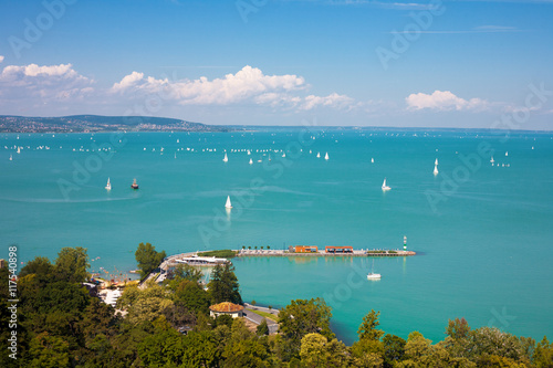 Lake Balaton in Hungary Poster