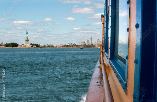 Staten Island Ferry View, New York Poster