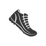 sport shoes running fitness icon. Isolated and flat illustration. Vector graphic