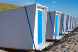 Beach Huts / Beach huts at Camperduin, Noord Holland, The Netherlands
