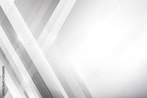Szary Abstrakcjonistyczny tło geometrii połysk i warstwa elementu wektor