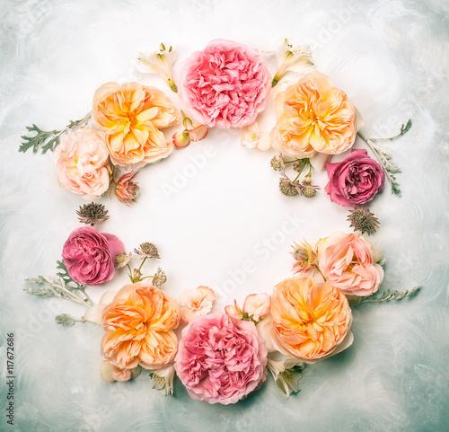 Zdjęcia na płótnie, fototapety, obrazy : Flower composition