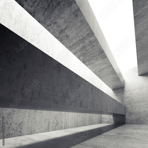 abstrakta-pusty-betonowy-wnetrze-z-stropnicami