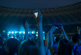 Fans at night performance