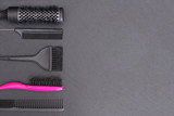 Salon Hairdresser Accessories, Comb, application brush
