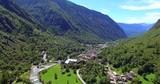 Cataeggio - Val Masino (IT) - Vista aerea - 2016