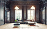 black living room - 117727290