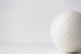 close up of volleyball ball