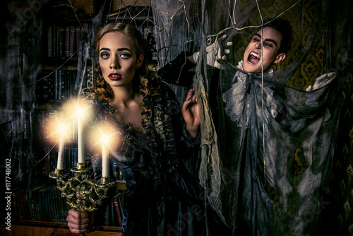 ghosts and vampires Poster