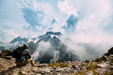 Man on the mountain