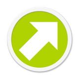 Runder Button Pfeil hoch - 117839035