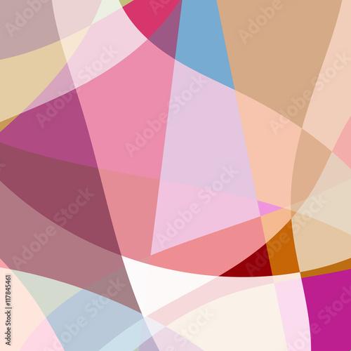 Poster sommer farben abstrakt pastell