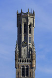 Der Belfried von Brügge, Belgien
