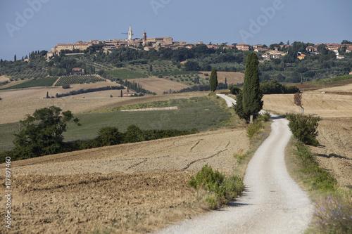 Fototapeta Pienza, Toscana