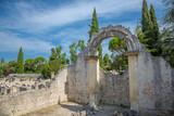 Site archéologique romain de la Villasse à Vaison-la-Romaine