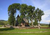 Church of Archangel Michael at Debno Podhalanskie. Poland