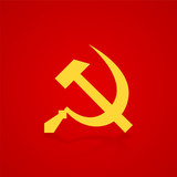 Hammer and sickle symbol USSR
