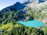 Valmalenco (IT) - Valtellina - Lagazzuolo - 1992 slm - Rifugio Alpini - Vista aerea