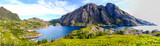 Landscape of Lofoten Islands in Norway.  - 118020020