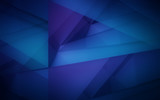 Dark violet and blue polygonal mosaic background - 118046459