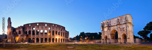Colosseum Rome night