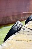 Bumper tyres on a pier