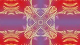 stylized a kaleidoscope of colored background patterns