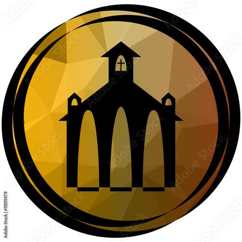 Naklejka Church