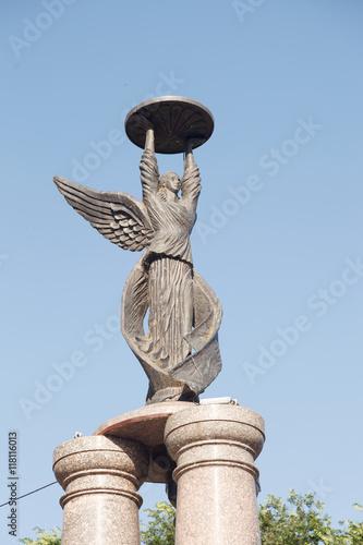 Poster Ангел-хранитель - Памятник в честь 300 лет основания города Таганрог