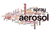 Aerosol word cloud