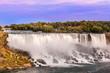 Niagara Falls view at American site falls