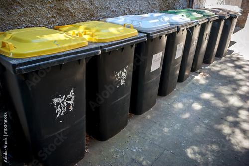 Poster Bidoni della spazzatura