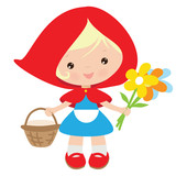 Red Riding Hood vector illustration