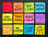 healthy lifestyle tips notes