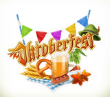 Munich Beer Festival Oktoberfest.