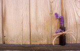 Essential Oil Bottle with Lavender